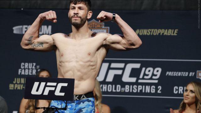 Marco Polo Reyes Violacion Antidopaje UFC mexicano Peleador