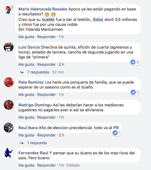 Salario Liga MX adeudos Xolos Salario tijuana AMF 2
