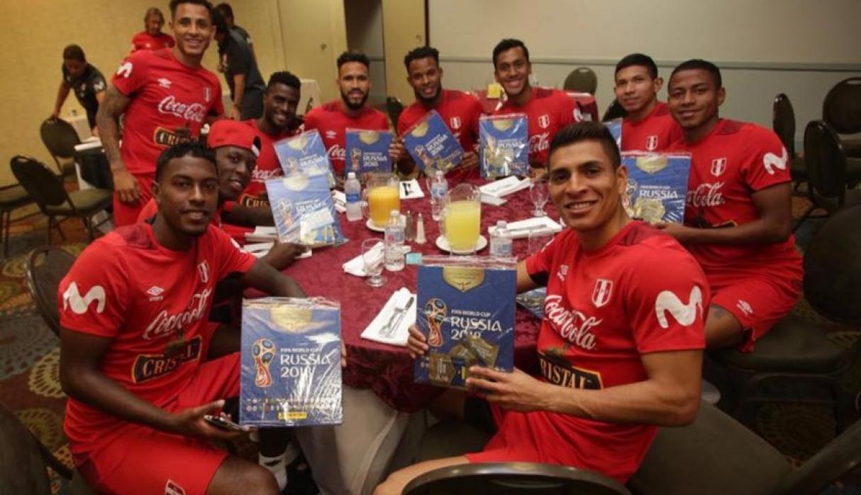 Jugadores Peruanos, Album, Mundial, Perú