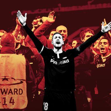 Sevilla Cuartos de Final Champions League