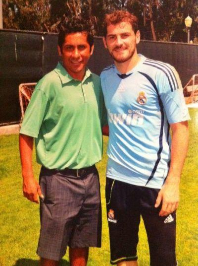 Jorge Campos Inspiracion de Iker Casillas