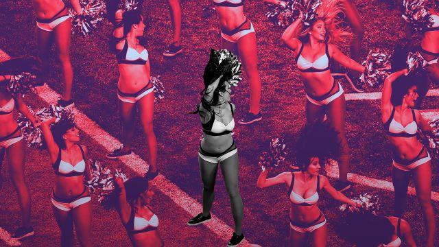 Porristas Esclavas realidad animadoras NFL Saints Bailey Davis 2