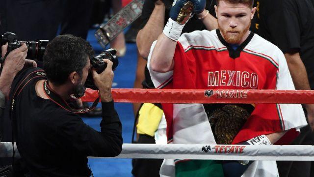 Canelo Álvarez Suspensión Dopaje Boxeo Clembuterol Dopaje.