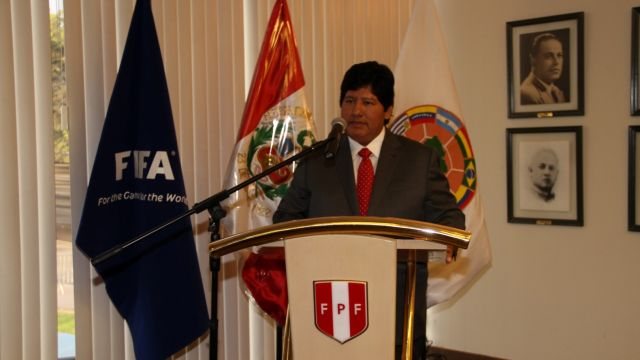 Edwin Oviedo Presidente Federación Peruana Futbol Perú Demanda Asesinato