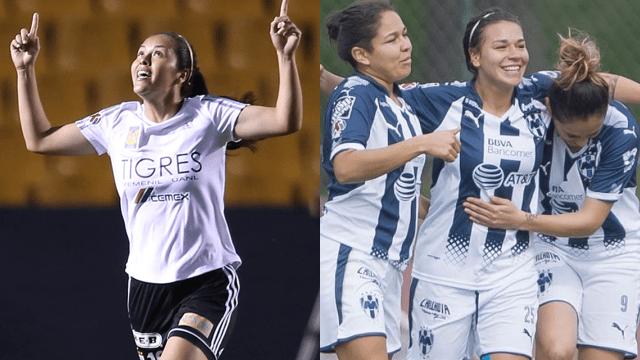Monterrey Tigres Clásico Regio Femenil Liga MX Final