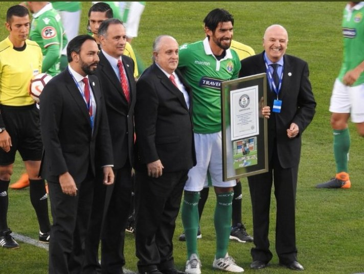 Sebastian Abreu Audax Record Guinness