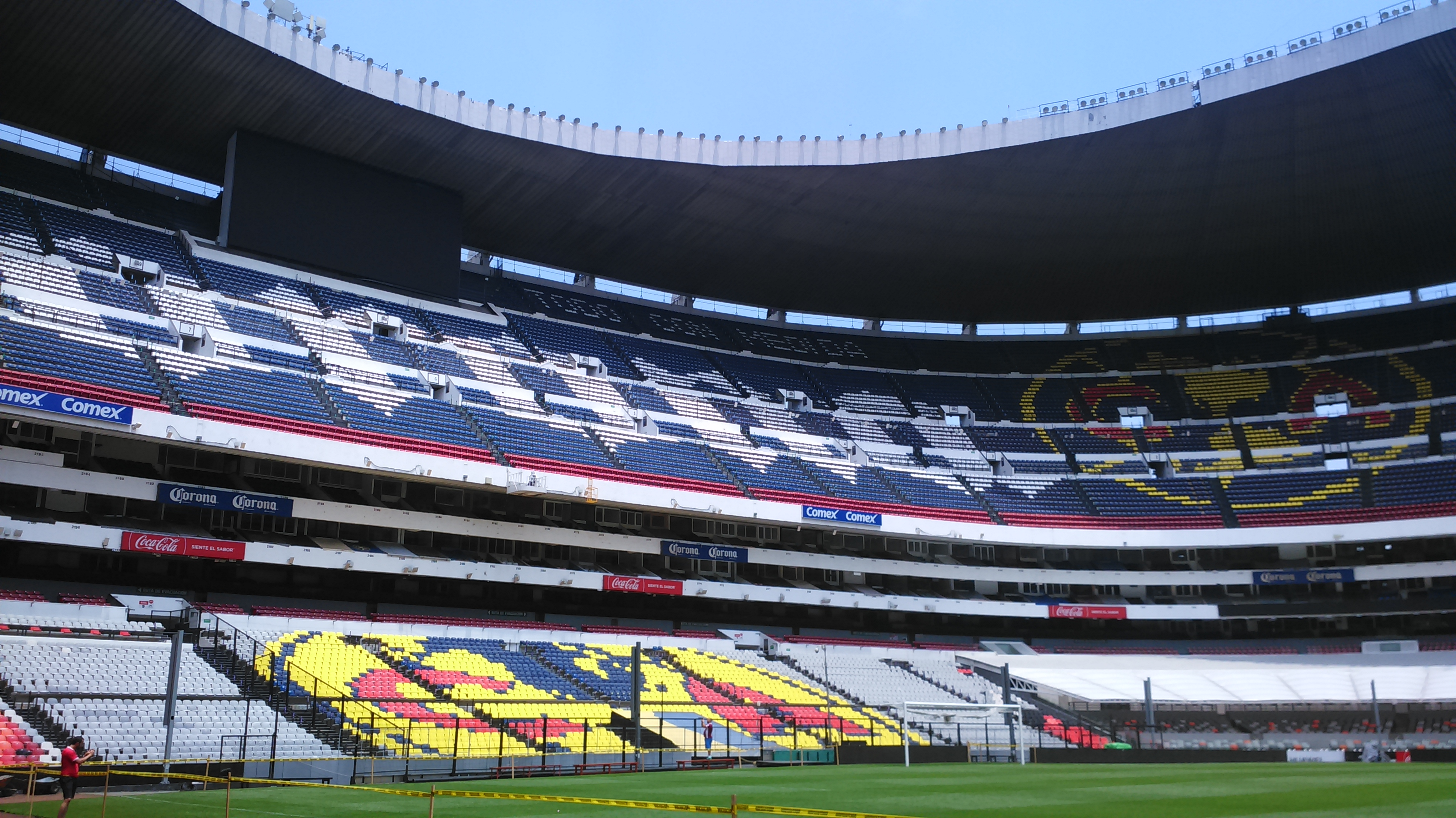 Cruz Azul Quitar Logo América Estadio Azteca