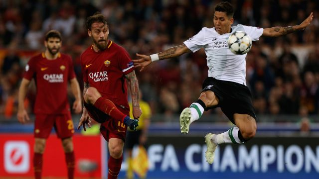 Liverpool Roma Semifinales Champions League Goles