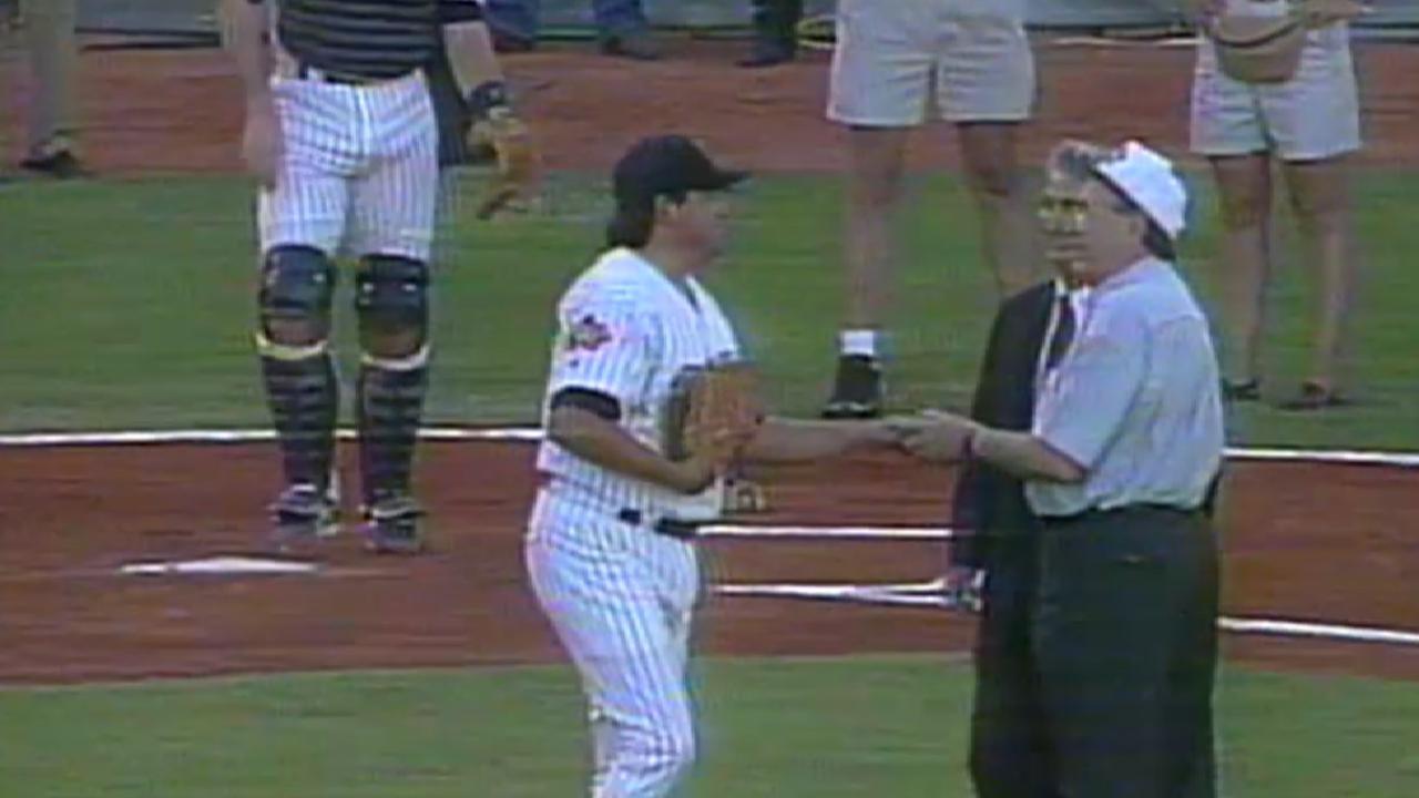 MLB México 1996 Padres Mets
