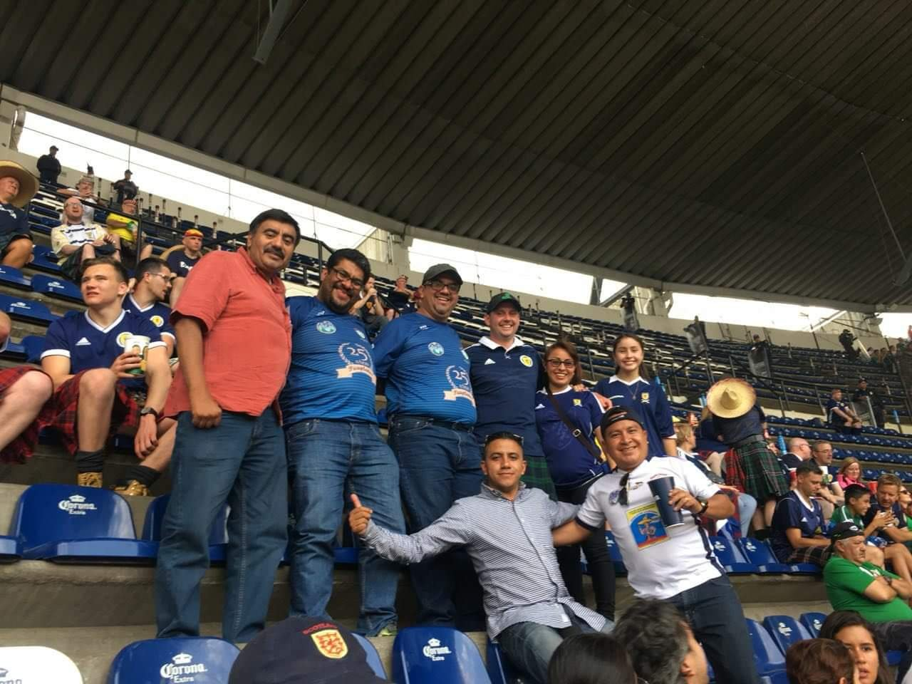 aficionado Germán López murió Estadio Azteca
