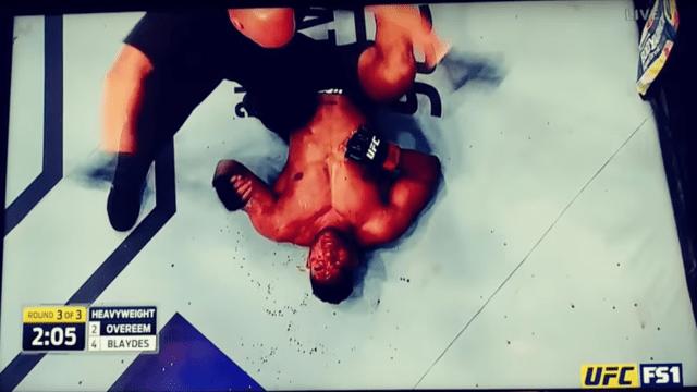 Alistair Overrem Perdio Rostro Sangre Destruyen UFC 225
