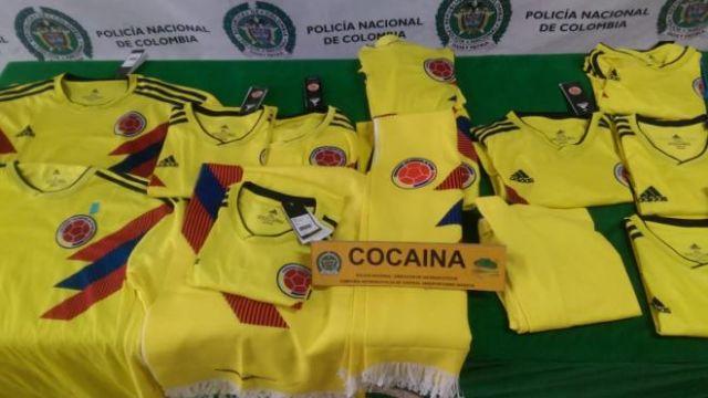 Confiscan Playeras Colombia Cocaína Los Pleyers