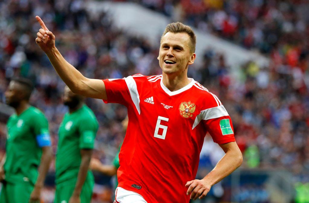 Denis Cheryshev Jugador Mundial Rusia 2018 Los Pleyers