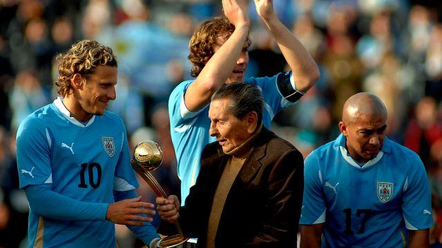 mejor jugador, mundial, maracanazo, Alcides Ghiggia, uruguayo, Diego Armando Maradona, Diego, Twitter, Mundiales, Brasil, Uruguay, Argentina