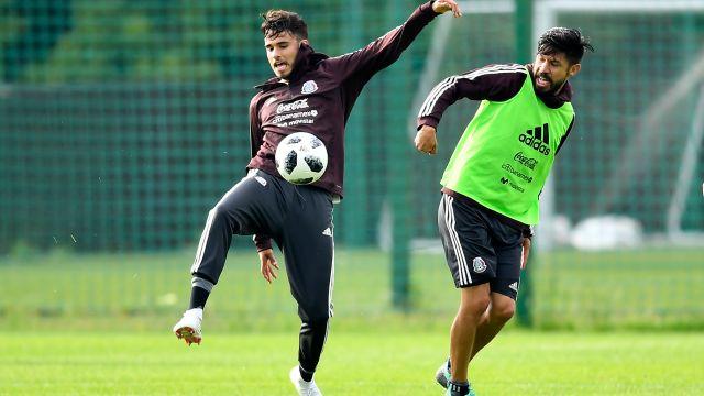 Diego Reyes Baja Lesión Selección Mexicana Copa Mundo Rusia 2018