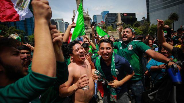 MEXICO VENCE A ALEMANIA