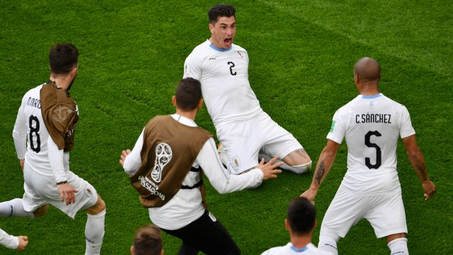 Giménez Uruguay Egipto Mundial Rusia 2018 Los Pleyers