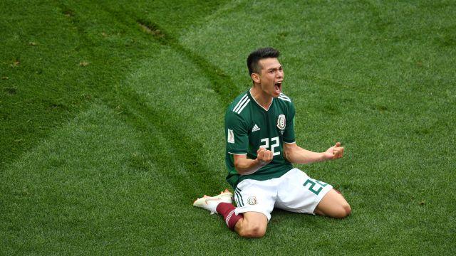 Hirving Chuck Lozano, México, Juventus, Barcelona