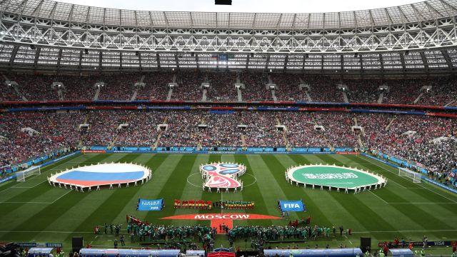 Imágenes Mundial Rusia 2018 Inauguración Fotos