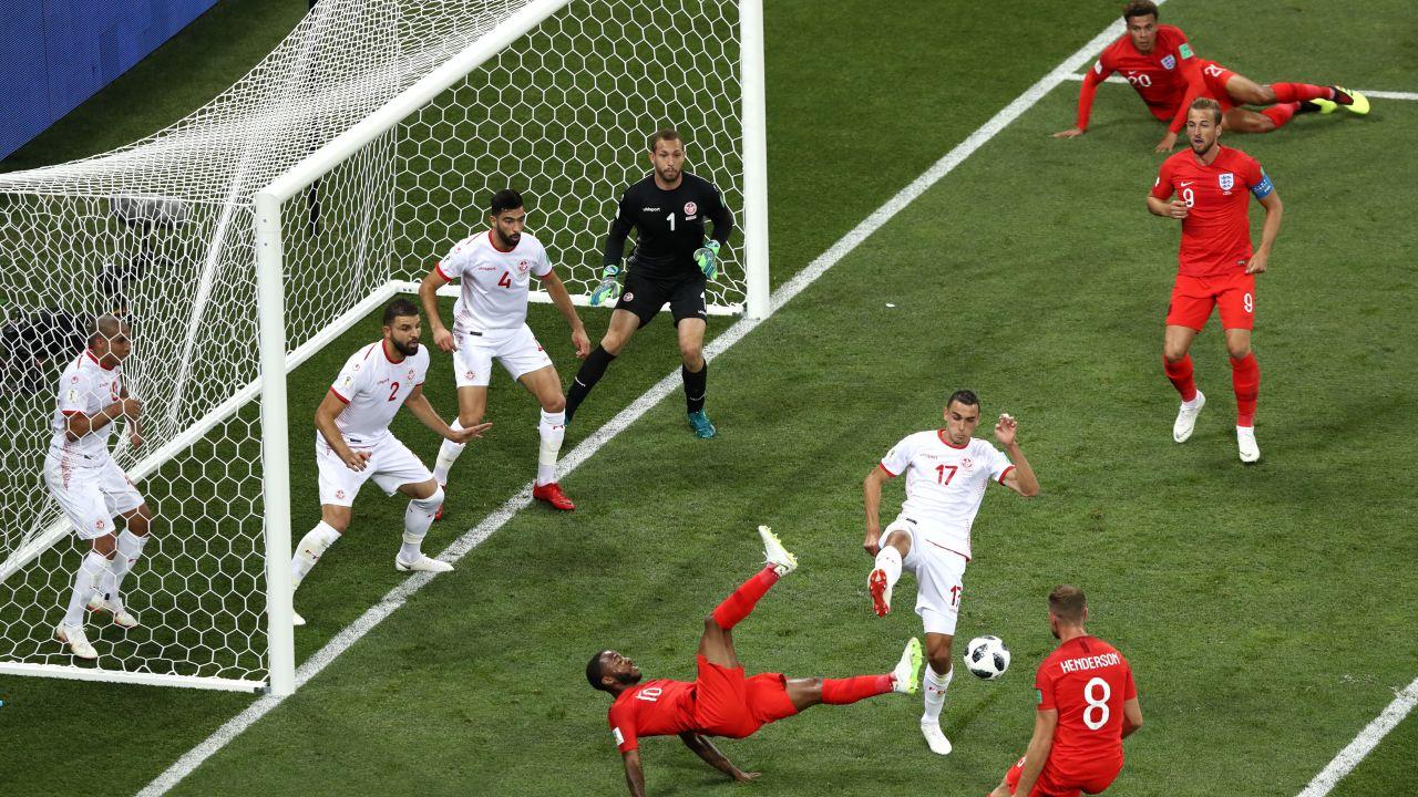 Inglaterra VIVO Túnez Mundial Rusia 2018