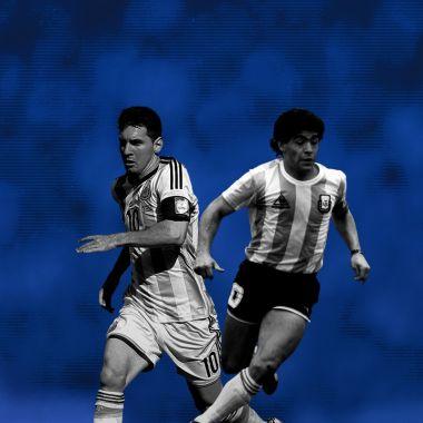 Lionel Messi, Diego Maradona, Messi, Maradona