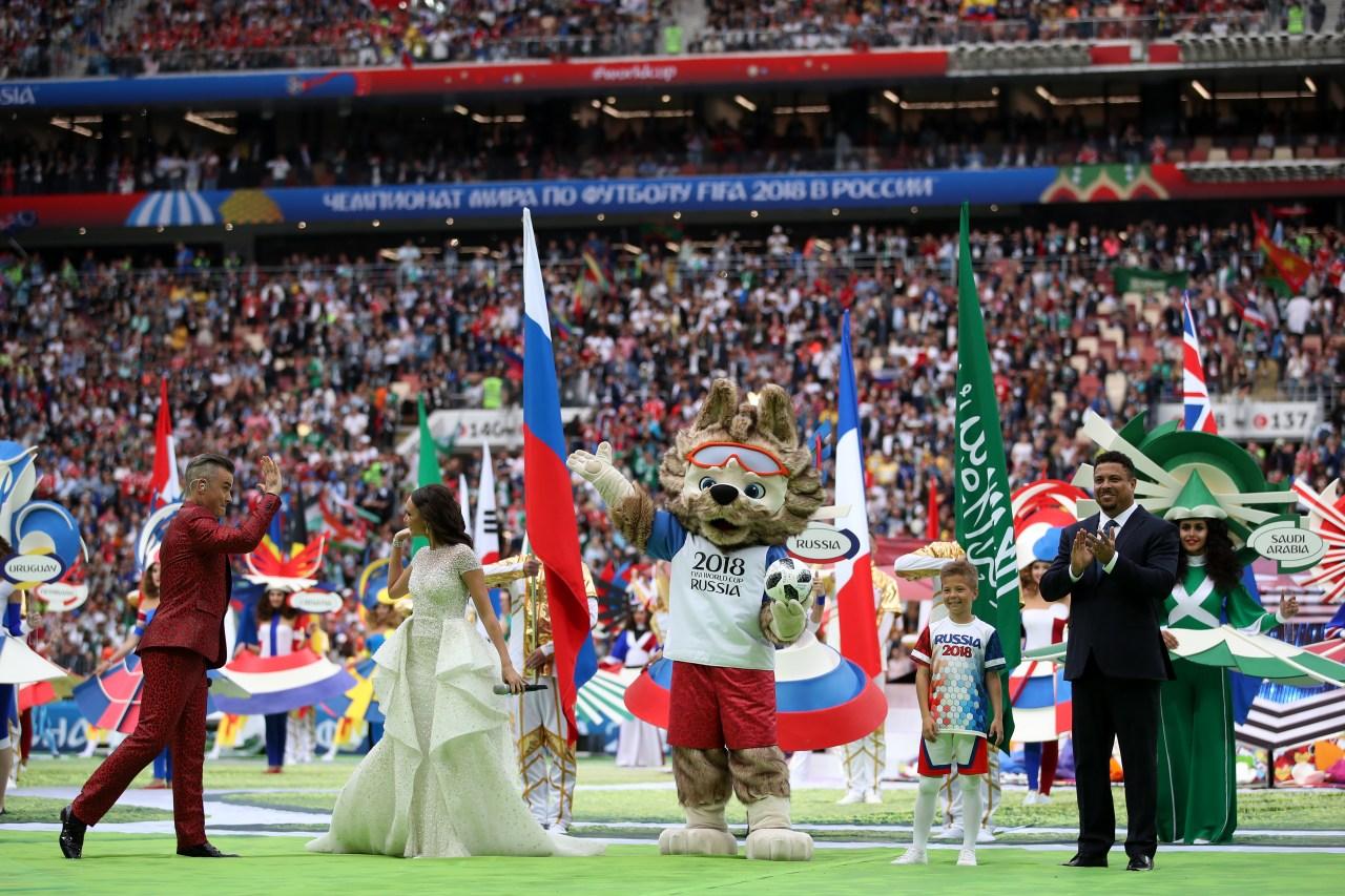 Mascota Mundial Inauguración Rusia 2018