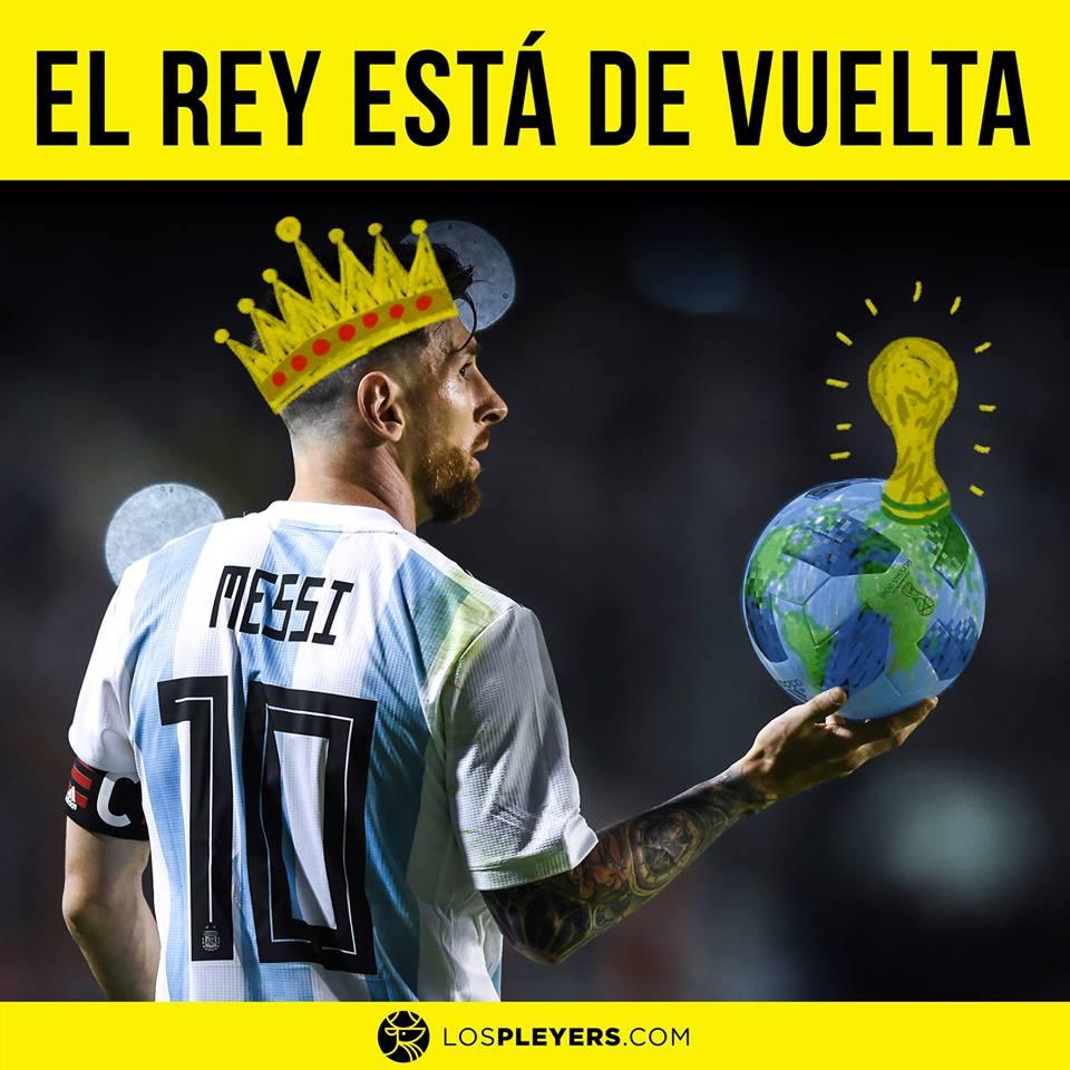 Messi Rey Mundo