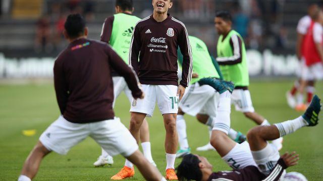 México Alemania Alineación Rusia 2018 Los Pleyers