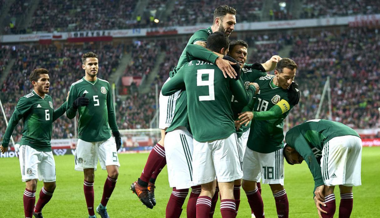 México Escocia Partido Amistoso Selección Mexicana Despedida