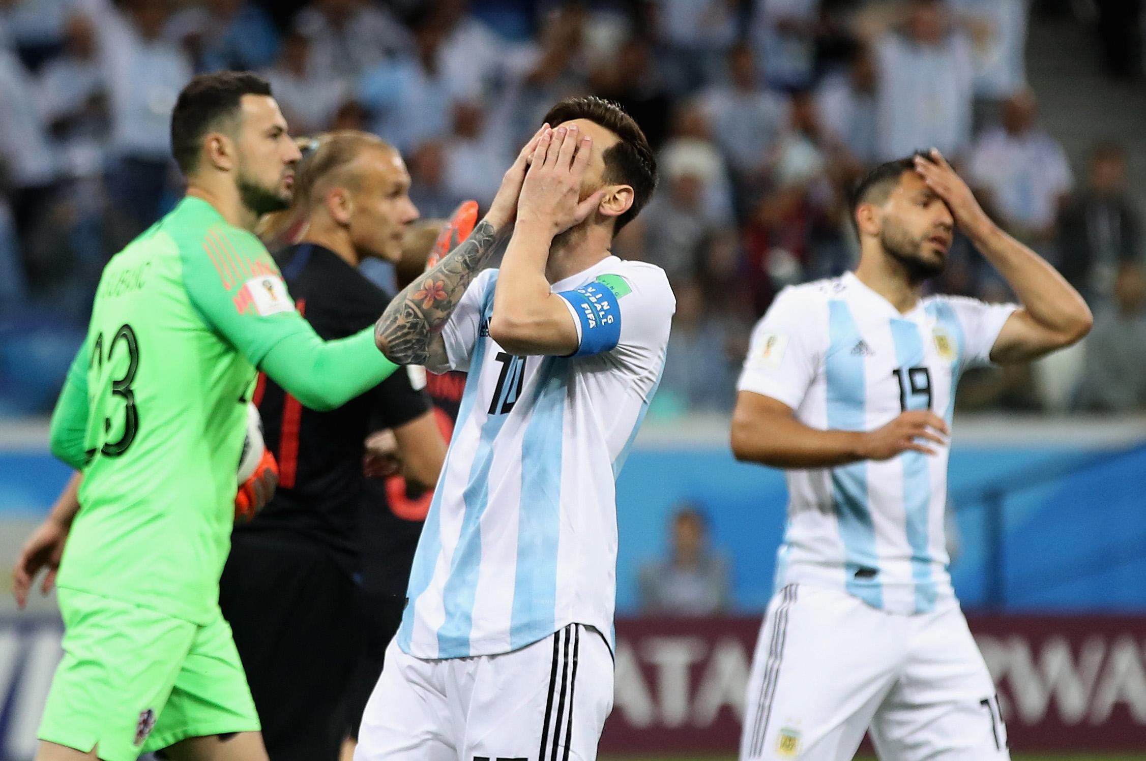 Prensa Argentina, Sampaoli, Messi, Argentina