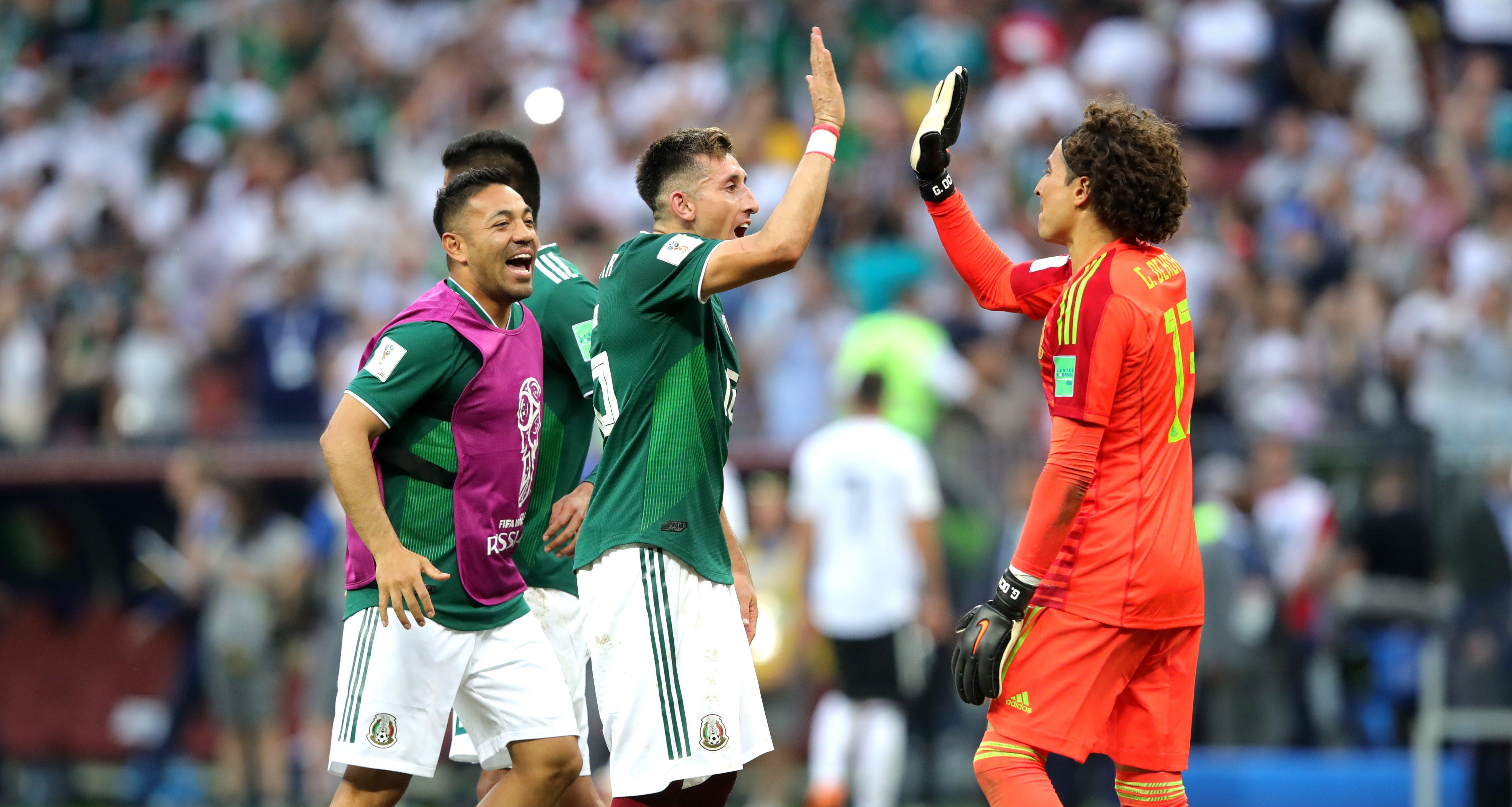 Selección Mexicana Alineación Corea del Sur Mundial Rusia 2018