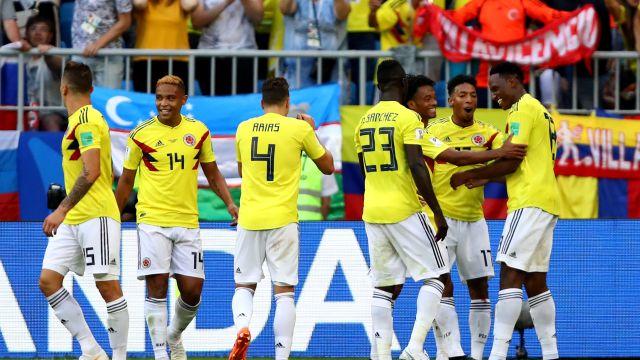 Senegal Colombia Mundial Rusia 2018 Goles