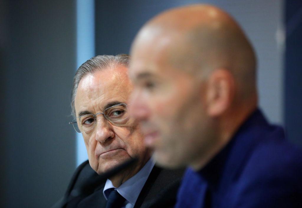 Zinedine Zidane Florentino Discusión Real Madrid