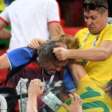 Aficionados mexicanos y argentinos se agarran a golpes con brasileños [Video]