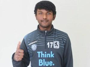 América, busca, Jugador India, Abneet Bharti