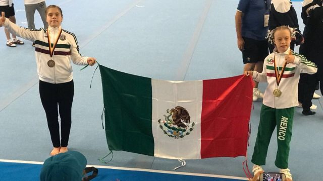 Bibi, María Barbara Wetzel, Campeona Gimnasia Artística, México