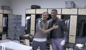 Cristiano Ronaldo Recibido Nuevos Compañeros Juventus