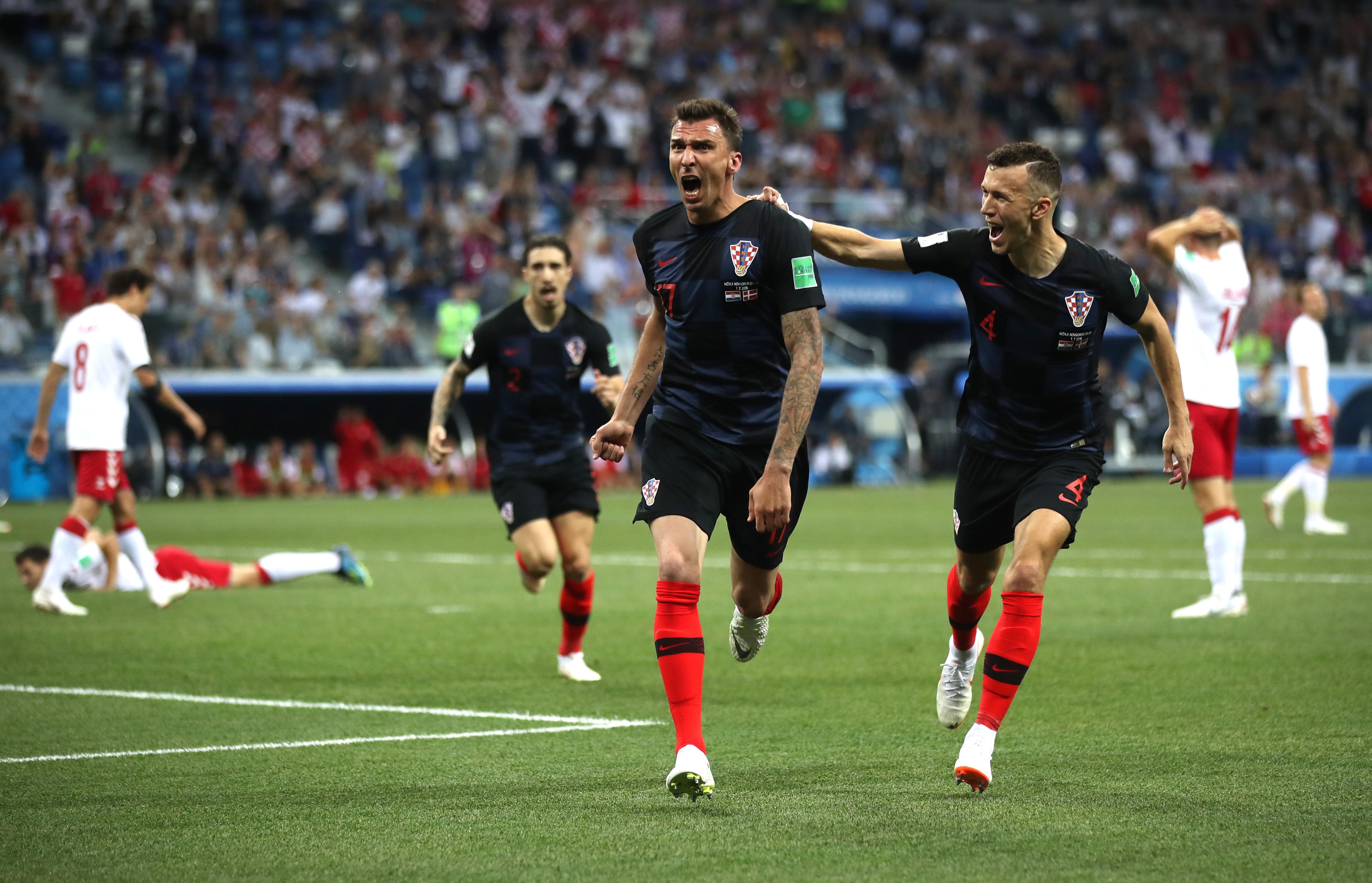 Croacia, Dinamarca, Mundial, Resultado