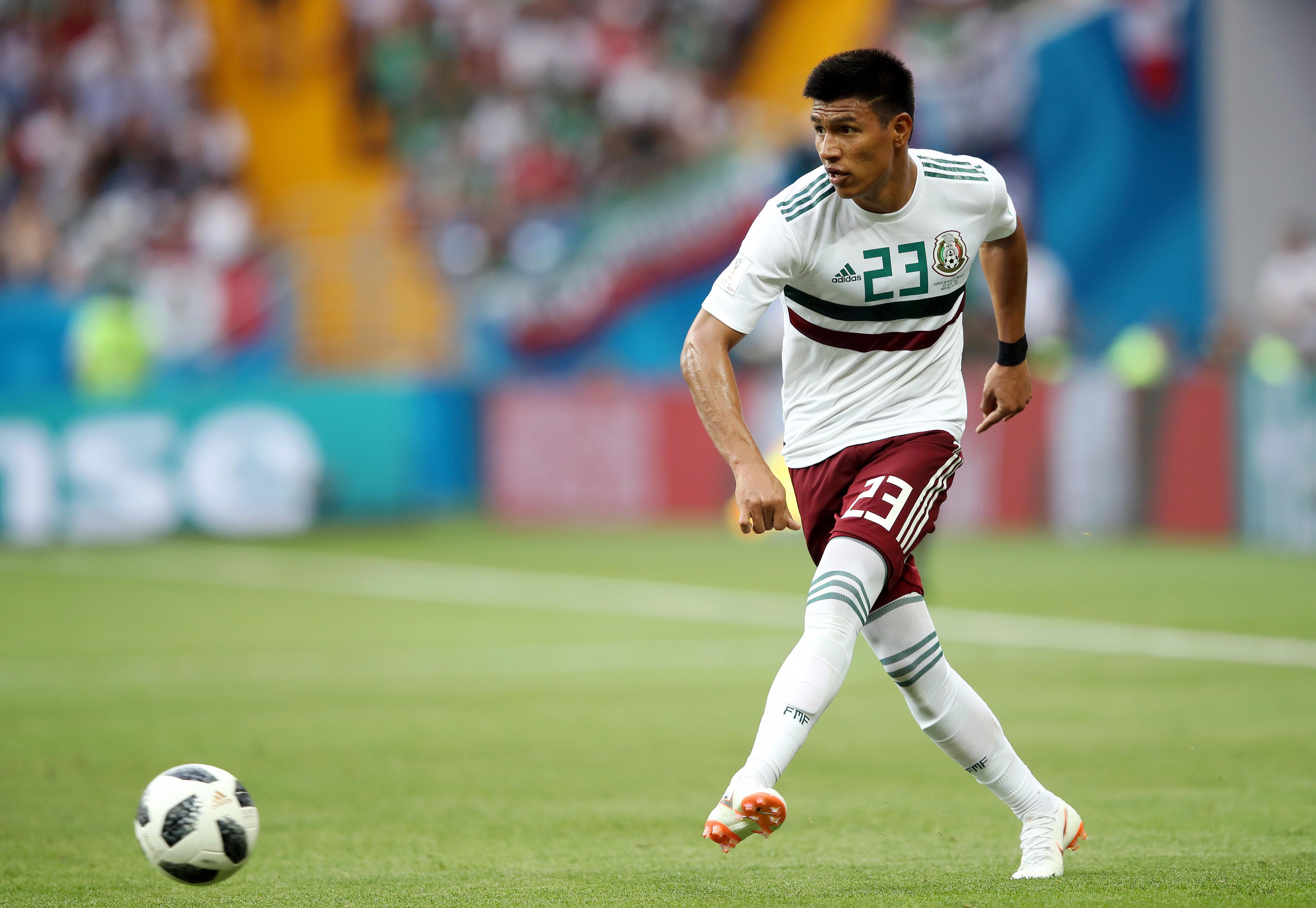 Jesús Gallardo Bundesliga Monterrey Mexicano Pleyers