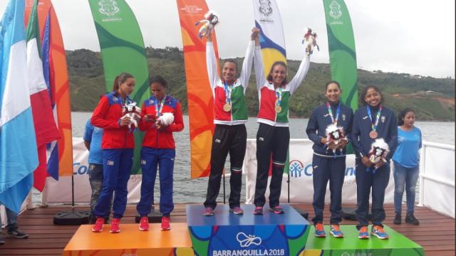 Juegos Centroamericanos 2018 medallero, Barranquilla 2018, México, Remo