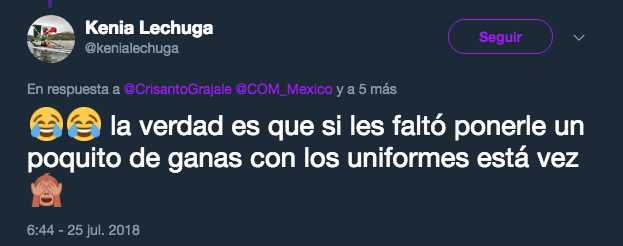 Mexico Juegos Centroamericanos, Uniformes, Barranquilla 2018, COM CONADE 1