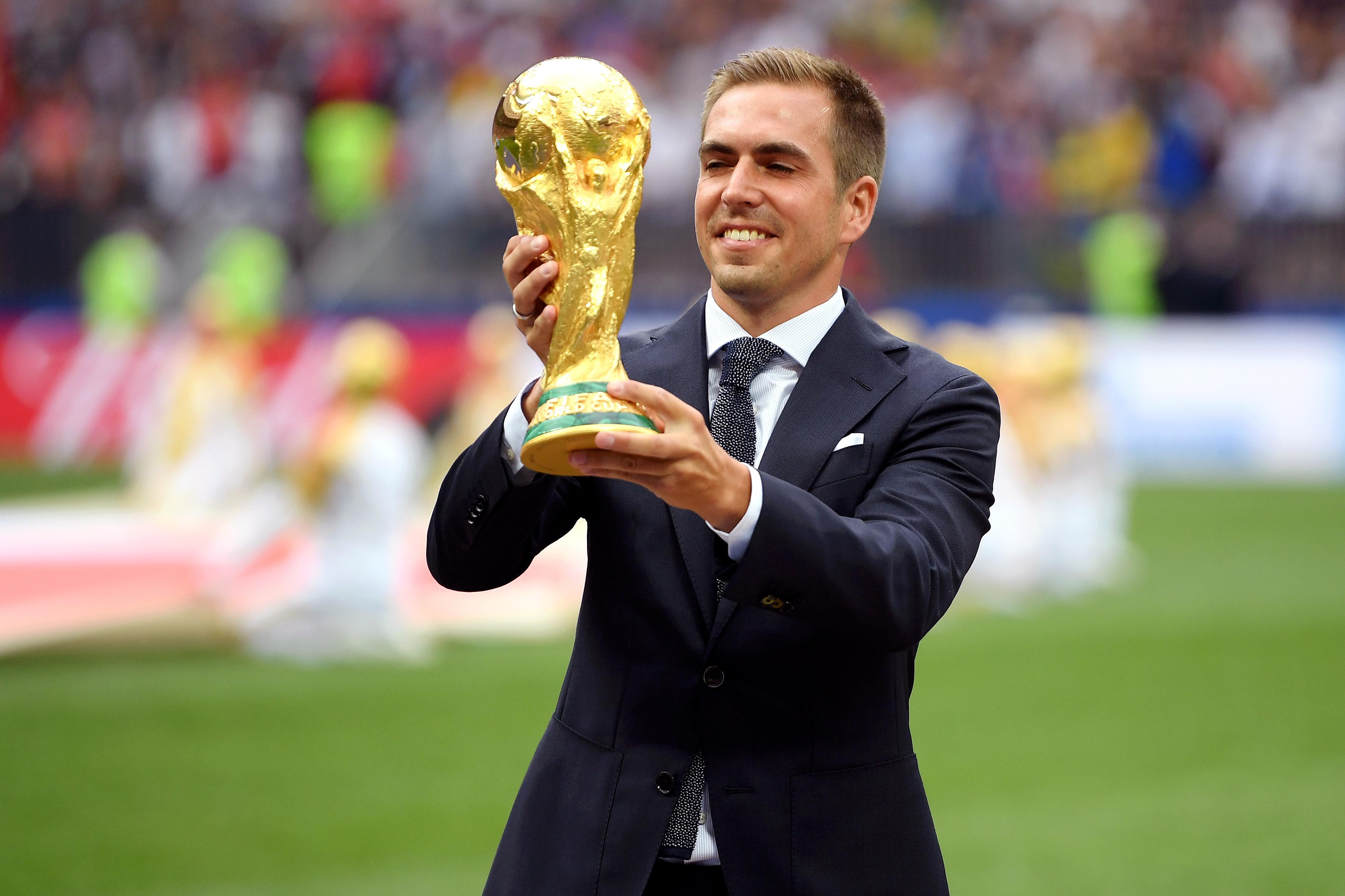 Philipp Lahm Trofeo Copa del Mundo