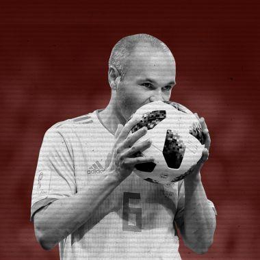 Andrés Iniesta se despide de la Selección de España