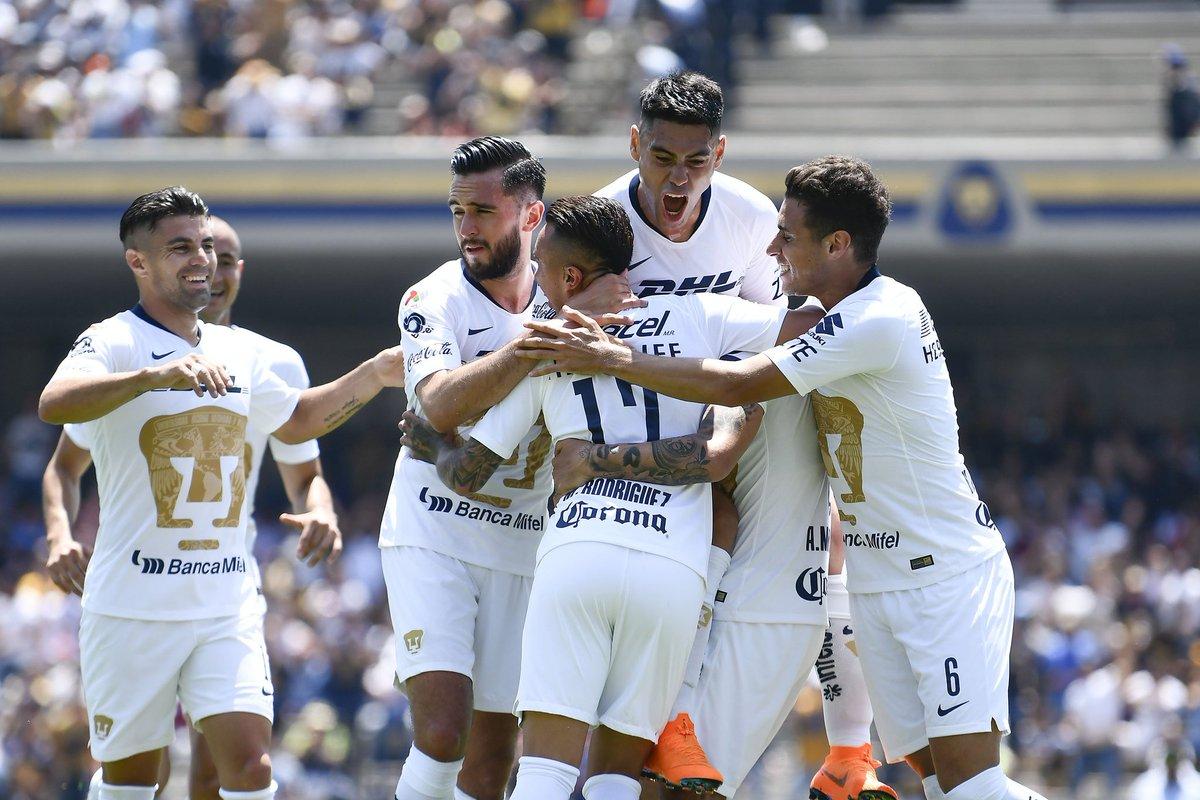 Pumas Necaxa Apertura 2018 Goles Jornada 2 Liga MX