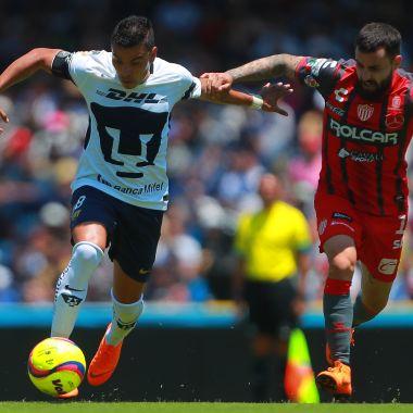 ¿A qué hora juegan Pumas vs Necaxa en la Jornada 2 del Apertura 2018?
