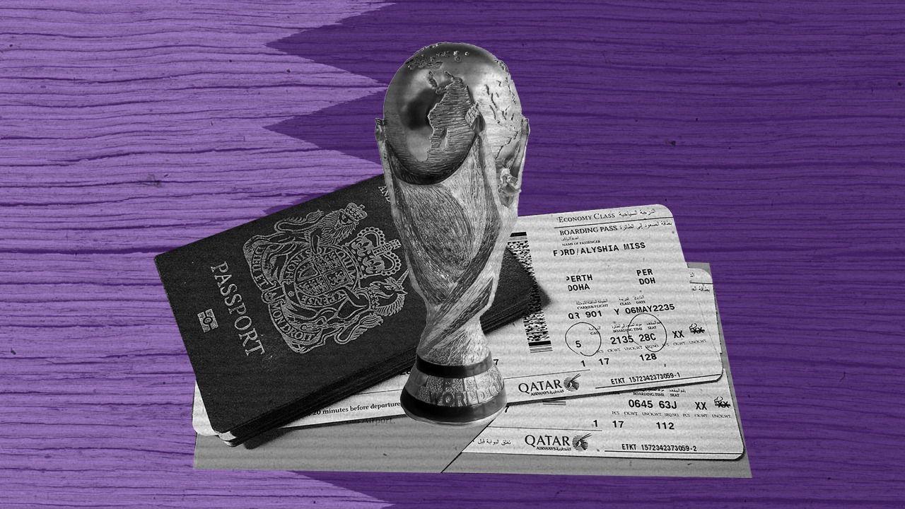 Qatar Visa México Mundial 2022 Los Pleyers
