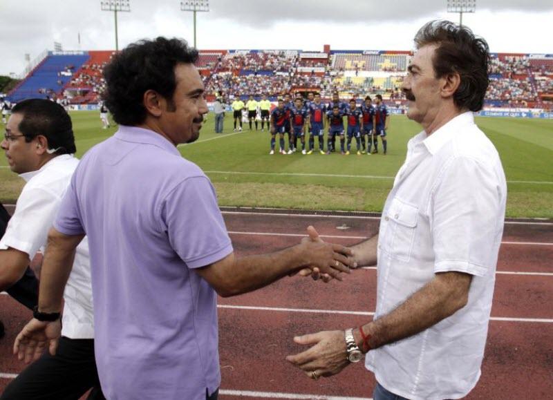 Ricardo Lavolpe, Hugo Sánchez, México, Selección Mexicana