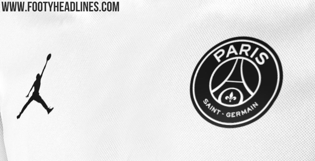 Uniforme PSG Jordan Blanca