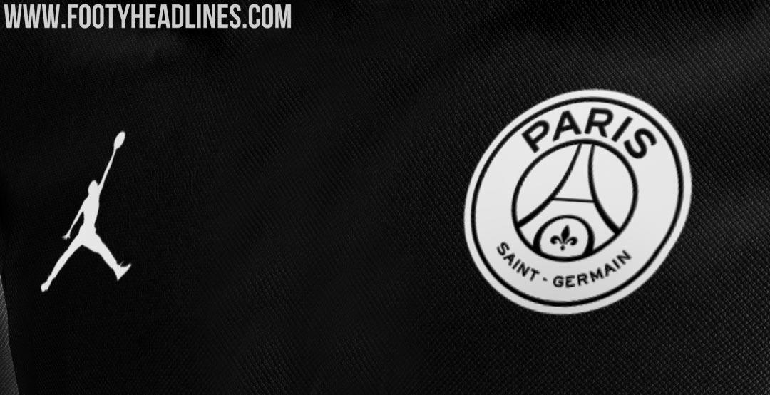 Uniforme PSG Jordan Negra