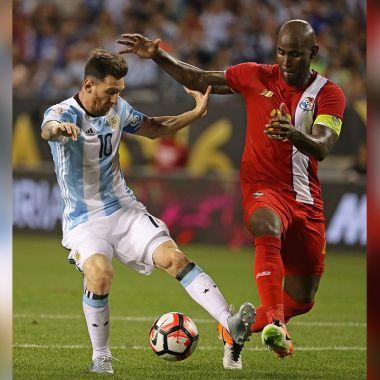 Lionel Messi Rendimiento Felipe Baloy Mundial